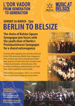 Berlin to Belsize Concert