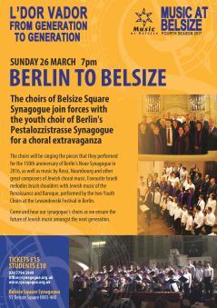 Berlin to Belsize Concert